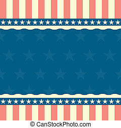 patriótico, estrelas listras, fundo