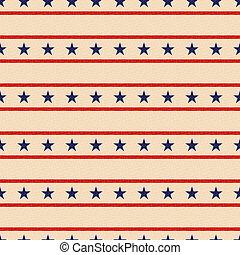 patriótico, estrelas, seamless, fundo