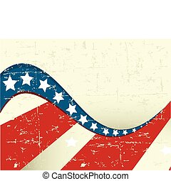 patriótico, finca, plano de fondo