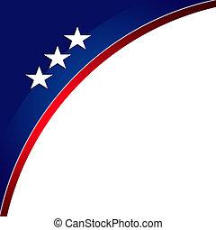 patriótico, fundo, mlk