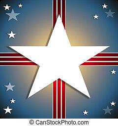 patriótico, norteamericano, plano de fondo