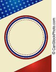 patriótico, quadro, fundo