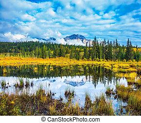 Autumn in the Rocky Mountains of Canada