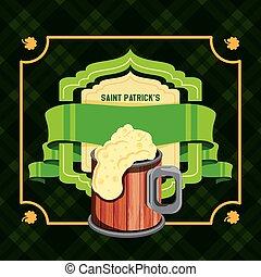 patrick, bier, dag, lint, st