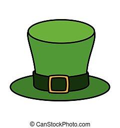 patrick, cappello, scheda, santo, gnomo