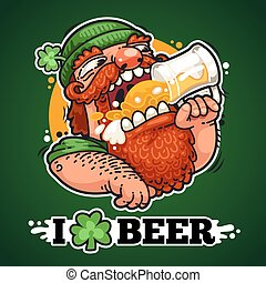 patrick, cerveza