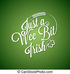 Patrick day vintage irish background