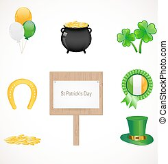patrick, rue, icônes