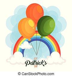 patrick, santo, scheda, arcobaleno