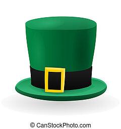 patrick, st, chapéu verde