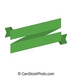 patrick, st, versiering, groene, dag, lint