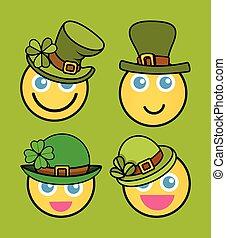Patrick's Day Leprechaun Smiley