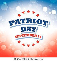 Patriot Day USA banner