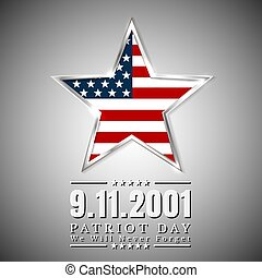 patriot, ster, usa, nationale vlag, kleuren, amerikaan, dag