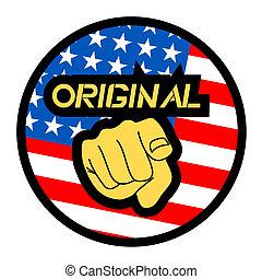 patriota, ícone