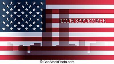 patriota, chorągiew, dzień