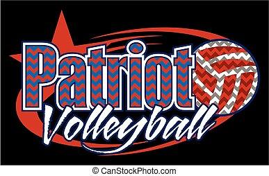 patriota, voleibol