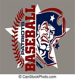 patriotas, basebol