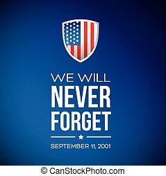 patriote, septembre, 11, -, 2001, jour