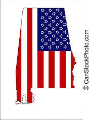 Patriotic Alabama 3