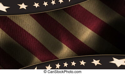 Patriotic Background 1 Vintage