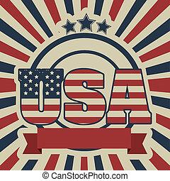 Patriotic background