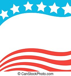 Patriotic background USA flag.