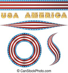 Patriotic Banner Set