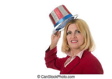 Patriotic Business Woman 2