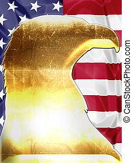 Golden American Eagle