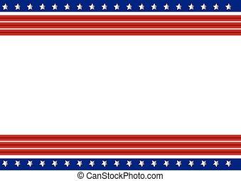 Patriotic Frame background