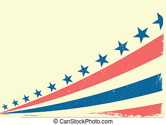 patriotic grungy  background