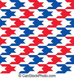Patriotic Houndstooth 2