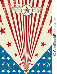 A new patriotic background for a poster.