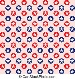 patriotic star dots pattern background