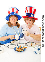 Patriotic Tea Party Voters