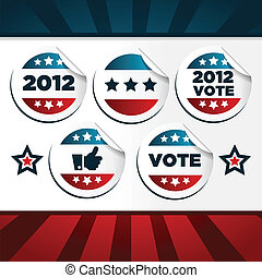 patriotice, hlasování, prasečkář