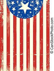 patriotique, américain, papiers peints