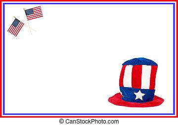 patriotique, carte