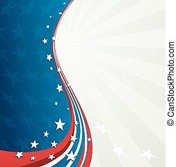 patriotique, jour, fond, indépendance