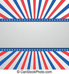 patriotisch, sterne streifen, hintergrund