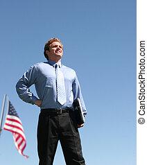 patriotismo, empresa / negocio