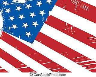 patriotismo, medios, bandera estadounidense, plano de fondo, nacionalismo