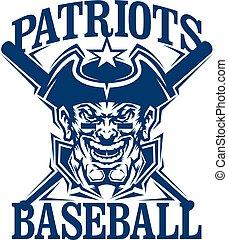 patriots, baseball