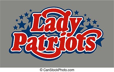 patriots, hölgy