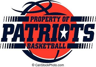 patriots, kosárlabda