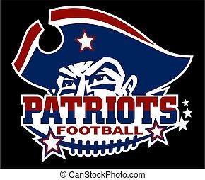 patriots, labdarúgás