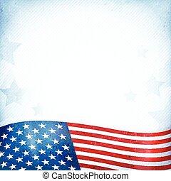 patriottico, stelle, stati uniti, fondo, zebrato