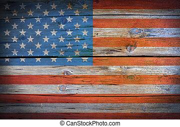 patriotyczny, amerykanka, tło
