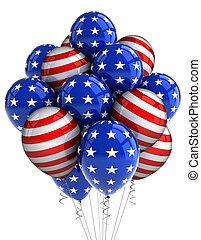 patriotyczny, balony